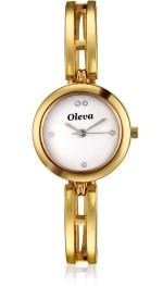 Oleva Wrist Watches OSW 17 Golden