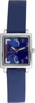 Calvino CLAS-154463LK_Blue Scintillating Analog Watch  - For Women