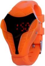 KMS Wrist Watches KMS Ironman_Look_Led_Orange Digital Watch For Men, Women, Girls, Boys