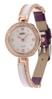 RBS Online Trading Company Purple Diamond Studded Dual Colour Analog Watch  - For Girls, Women