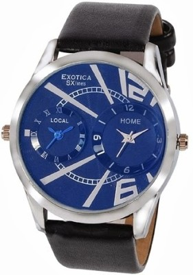Exotica SXlines EF 81 Dual Blue Analog Watch   For Men available at Flipkart for Rs.899