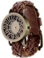 Rich Club Brown Wood Analog Watch  - For Girls, Women