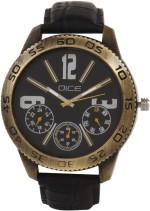 Dice Wrist Watches DCMLRD38LTBLKBLK051