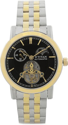 Titan Automatic Analog Watch - For Men Gold, Silver