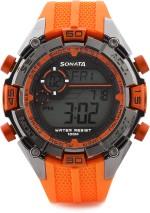 Sonata Wrist Watches 77026PP03J