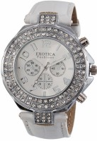 Exotica Fashions Analog Watch  - For Women - White - WATDQSPZMN9MDCEZ