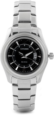Citizen Eco-Drive Analog Watch - For Women Silver