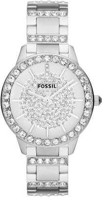 Fossil ES3097 Jesse Crystal Analog Watch  - For Women