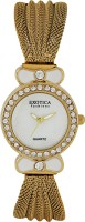 Exotica Fashions EFL-25-Gold Basic Analog Watch  - For Women