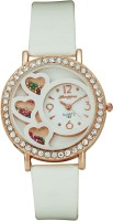 Hongyee A185 Three Hearts Analog Watch  - For Women