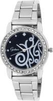 Gesture Adorable Sobar Black Elegant Analog Watch  - For Women