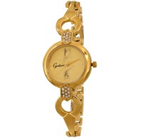 Gesture Elegant Looking Golden 1 Analog Watch  - For Women