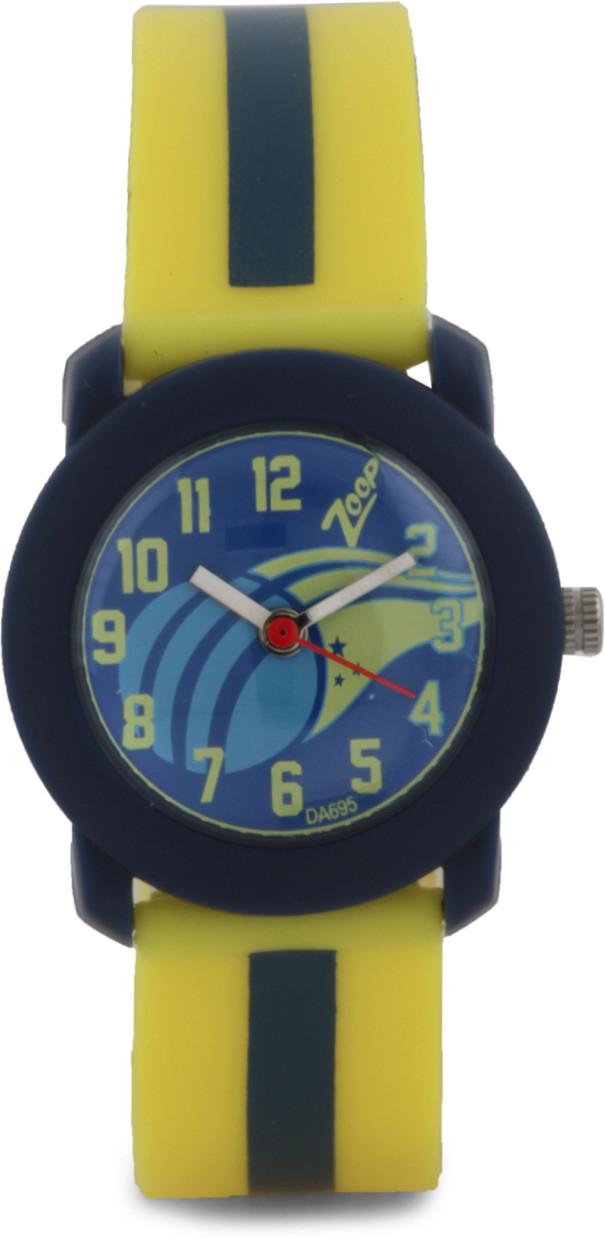 8f0f43cc29b ... ZOOP ANALOG WATCH FOR GIRLS BOYS YELLOW BLUE