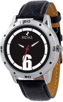 Ridas 2006_black_white Leather Analog Watch  - For Men