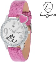 Lugano DE2019 Boutique Collection Analog Watch  - For Girls, Women