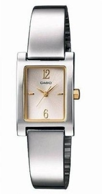 Casio Mac Collection Analog Watch   For Women Silver available at Flipkart for Rs.2845