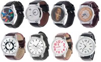 Intricate Combo Of 8 Analog Watch  - For Men, Boys
