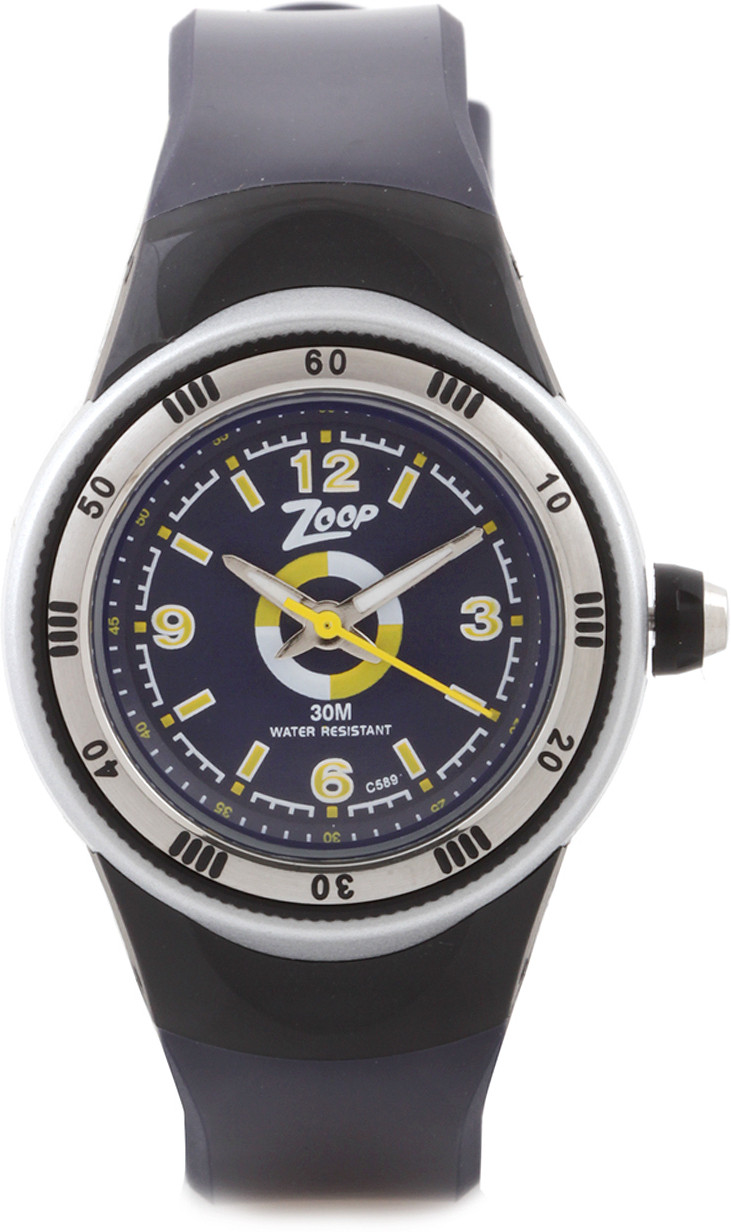 f0034402560 ... ZOOP ANALOG WATCH FOR BOYS GIRLS BLUE