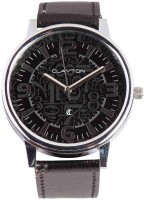 Clayton Double Glass Analog Watch  - For Men - Black