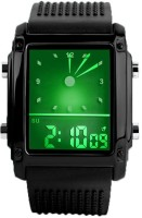 Skmei 814D1-Black Digital Watch  - For Men, Boys, Women, Girls