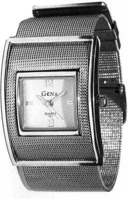 Elwin Wrist Watches Elwin genx flexible chain Genex Analog Watch For Girls, Women