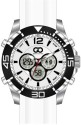 GIO COLLECTION Analog-Digital Watch  - For Men - White