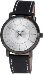 Gesture Wrist Watches Gesture Gesture Elegant Curvy Silver Watch Analog Watch For Men