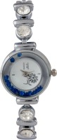 Excelencia CW-11-Silver-blue Charming Analog Watch  - For Women