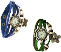 Jack Klein Jackblgrn Analog Watch  - For Girls, Women