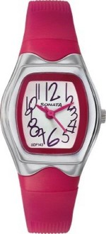 Sonata Wrist Watches Sonata super fiber contemporary dial teen Analog Watch For Girls