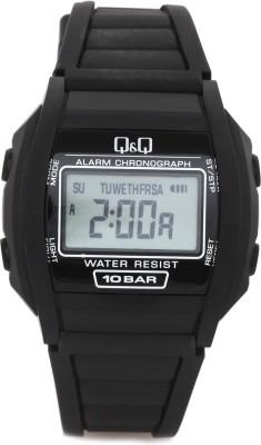 Q&Q Digital Watch   For Men Black available at Flipkart for Rs.360