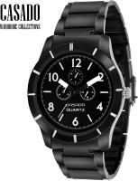 Casado 107 All Black Analog Watch  - For Men