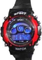 ZDelhi.com Sports 7 Changable Display Color Digital Watch  - For Boys, Girls, Men, Women