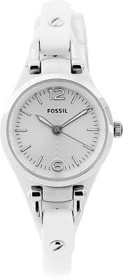 Fossil Fossil GEORGIA Analog Watch (White)