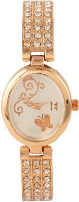 Excelencia CW-04-Blue Butterflies Analog Watch  - For Women