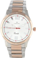 Colat Contemporary Appeal Analog Watch - For Men, Women (Silver, Gold)