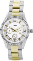 Timex Analog Watch  - For Men - Silver, Gold