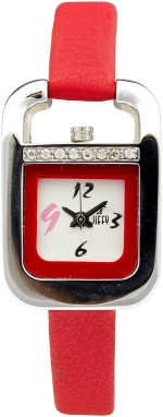 Jiffy International Inc Wrist Watches Jiffy International Inc JF 5119/3 Analog Watch For Women