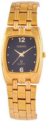 Timewel Timewel Analog Watch (Yellow)