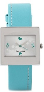 SONATA Wrist Watches SONATA yuva steel Analog Watch For Women, Girls