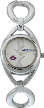American Swan Wrist Watches 141ATWWHMAS57 WHIT