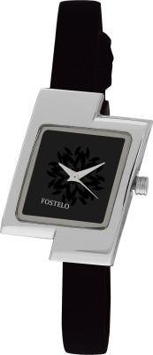 Fostelo FST-12-16B Flower Analog Watch  - For Women