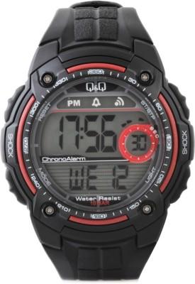 Q&Q Digital Watch   For Men Black available at Flipkart for Rs.605