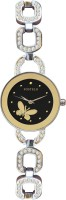 Fostelo FST-188 Gold Butterfly Analog Watch  - For Women