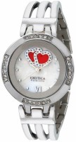 Exotica Fashions Analog Watch  - For Women - Silver