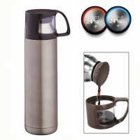 Hot Muggs Travel Mugs and Flasks 500 ml Water Bottle: Water Bottle