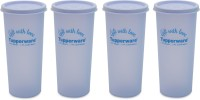 Tupperware Rainbow Tumbler 340 Ml Water Bottles (Set Of 4, Blue)