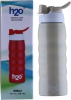 H2O SPORTS BOTTLE 600 Ml Water Bottle (Set Of 1, CREAM)