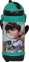 Ben 10 Ben 10 420 Ml Water Bottle (Set Of 1, Black)
