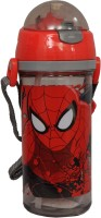 Marvel Sipper Bottle 500 Ml Water Bottle (Set Of 1, Red, Gray)